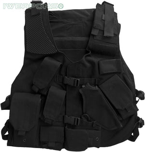 New Tactical Police Right Hand Vest with Holster and Backpack