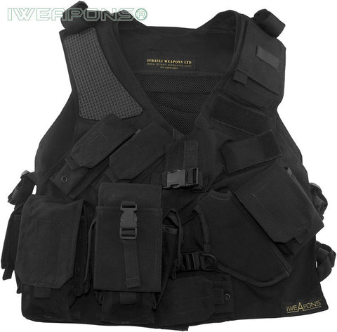 New Tactical SWAT Right Hand Vest with Holster and Backpack
