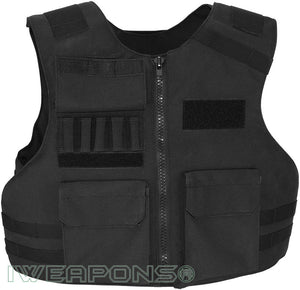 IWEAPONS® Ultra-Thin UK Police Bulletproof Vest IIIA / 3A