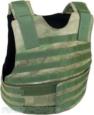 IWEAPONS® Viper Forest MOLLE Bulletproof Vest IIIA / 3A