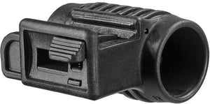 Picatinny Polymer Handgun Mount for 1 inch Flashlight & Laser