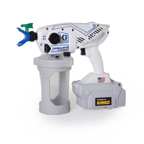 Graco Cordless SaniSpray HP Sprayer