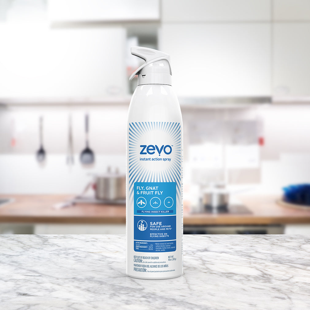 Get Rid Of The Buzz With This Fruit Fly Spray Zevo