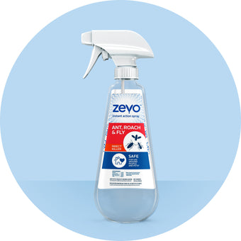 Zevo Instant Action Spray - Fly, Gnat & Fruit Fly Flying Insect