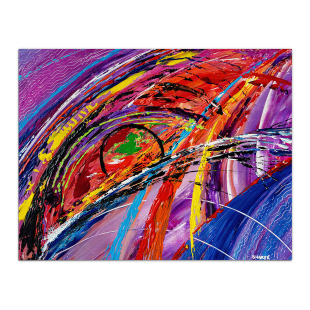 """Blink"" Abstract Art Print Abstract Art Print"