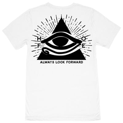 "Always Look Forward ""Pyramid Eye"" Tee T-Shirt"