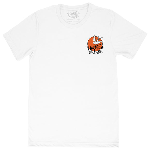 "Have Fun Or Else ""Swallow Sunset"" Tee T-Shirt"