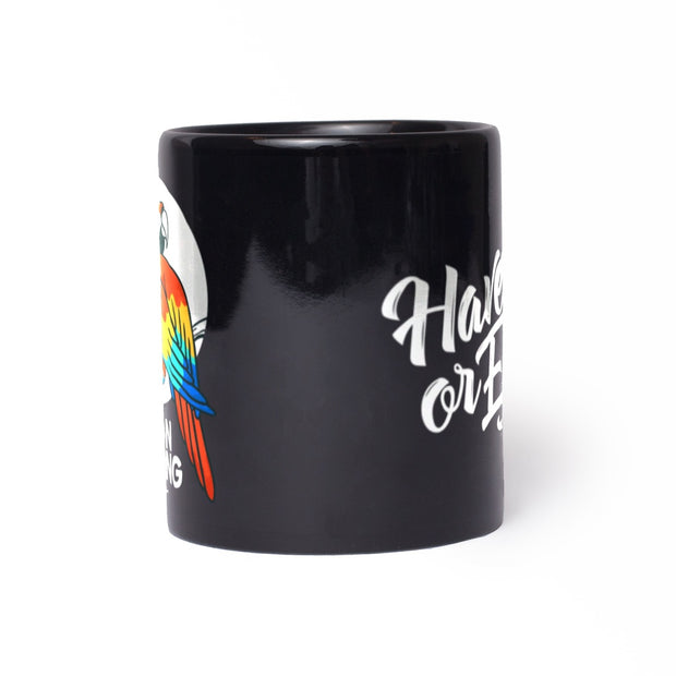 "Keep On Scheming ""Parrot"" Mug Mug"