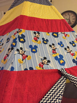 Deluxe Teepee made from Mickey Mouse Licensed Fabric - Apryle's House