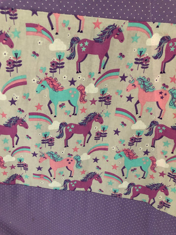 Classic Unicorns Pink Purple and Teal Teepee