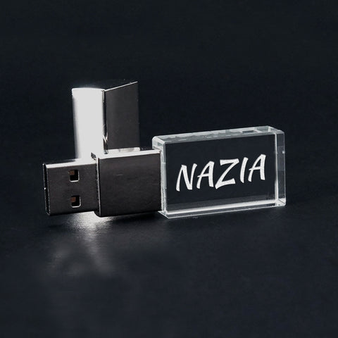 Personalized Crystal Pen Drive