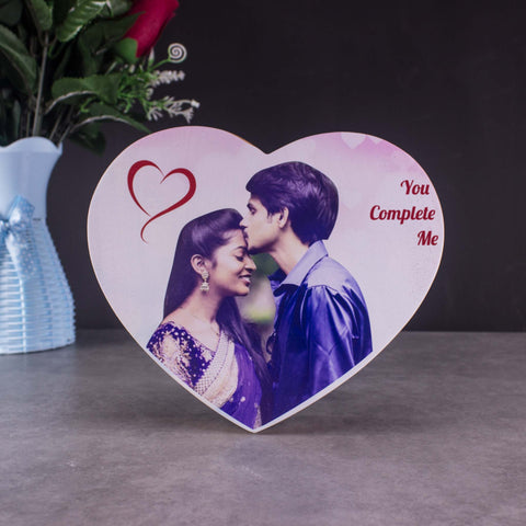 Personalized Wooden Heart Frame