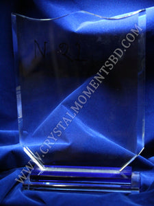 Winged Crystal Crest Award - Crystal Moments