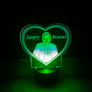 3d Illusion Personalized Lamp RGB Light