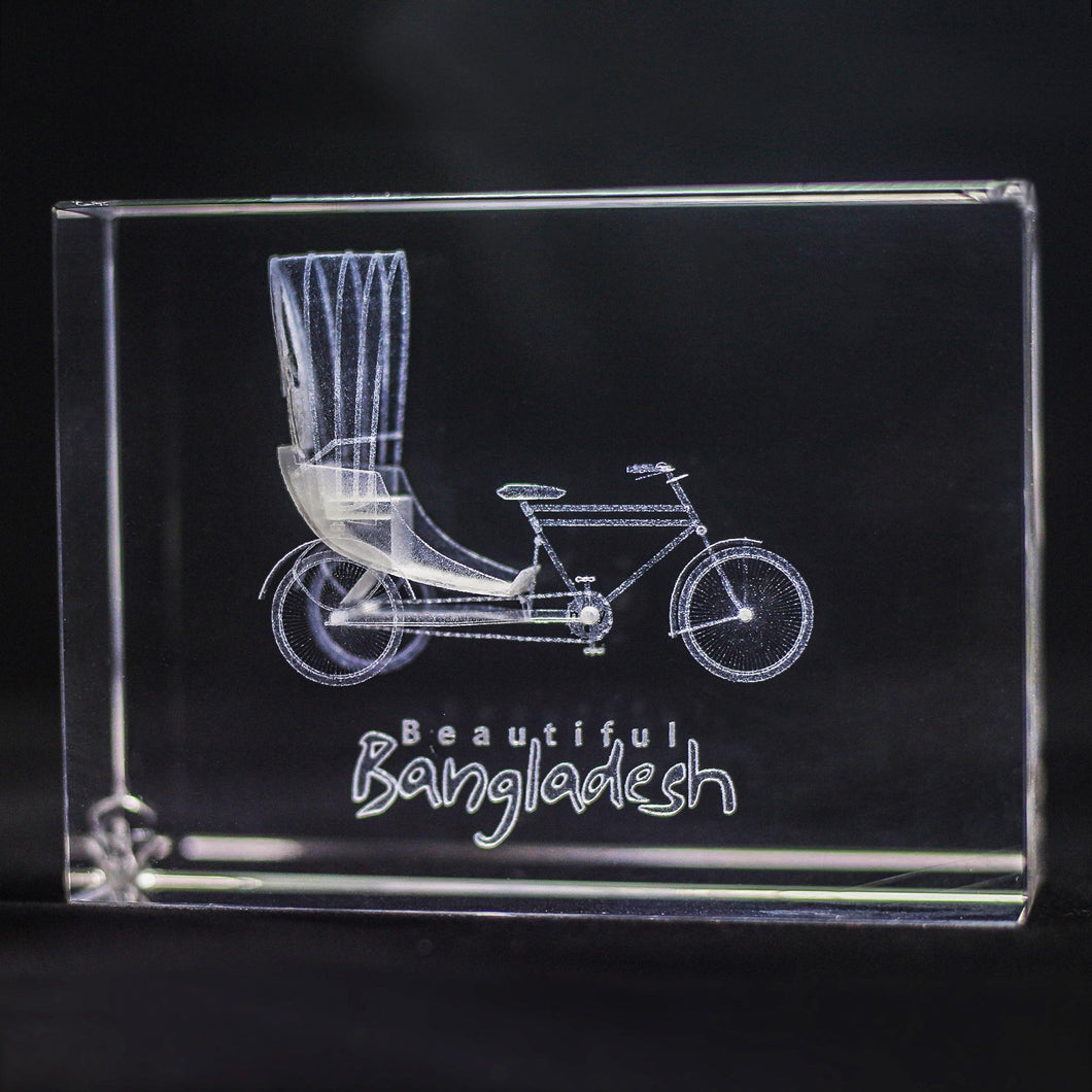 Rectangle Crystal Photo Frame - Crystal Moments