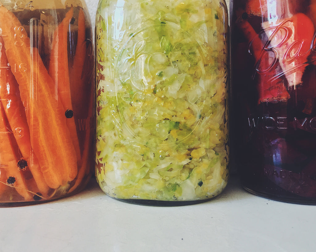 Quick and Easy Fermented Vegetables