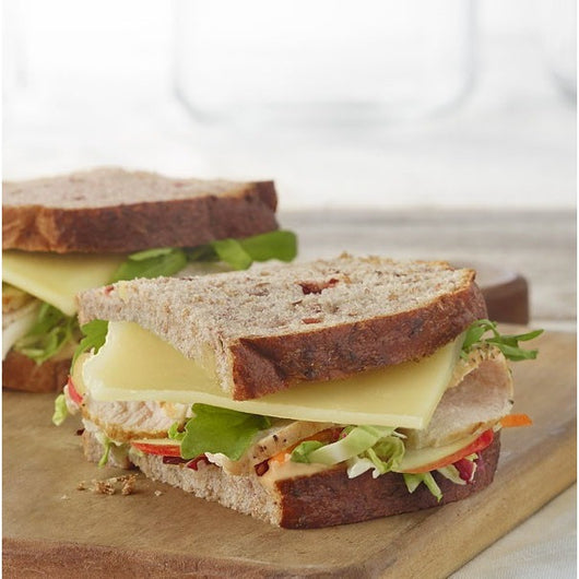 Roasted Turkey, Apple & Cheddar Sandwich
