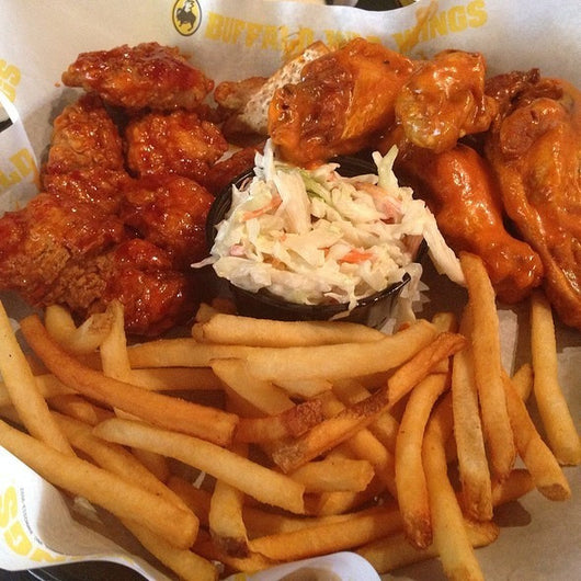 BWW Traditional and Boneless Wings Combo