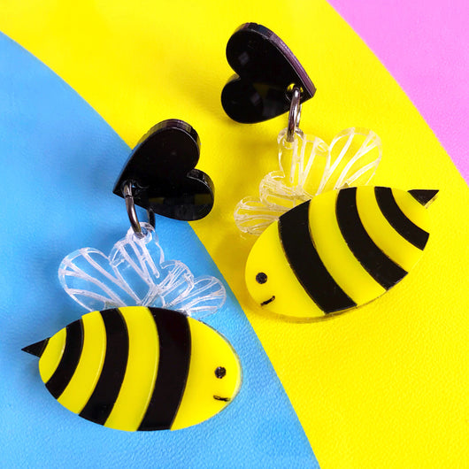 Cute Bee Earrings