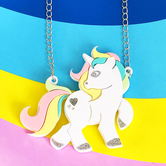 Unicorn Pony Necklace