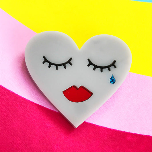 Broken Heart Brooch