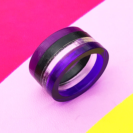Rainbow Ring with Edge