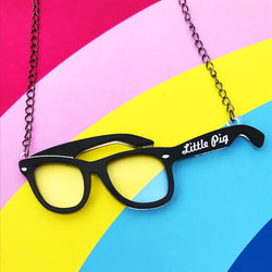 Statement Glasses Necklace