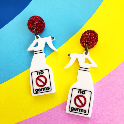 Germ Spray Earrings