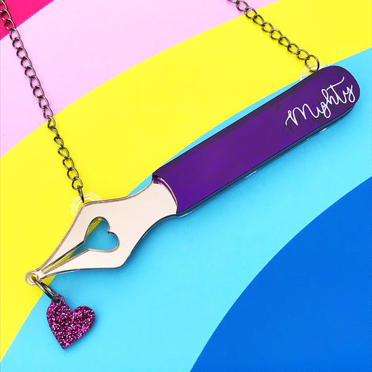 Mighty Pen Necklace