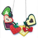 Tutti Frutti Statement Necklace