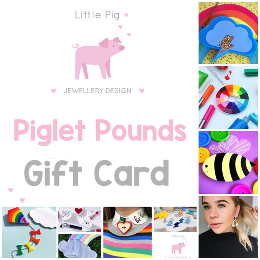 Little Pig Jewellery Design Gift Card