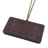 Bourbon acrylic necklace