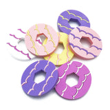 Biscuit acrylic brooch selection