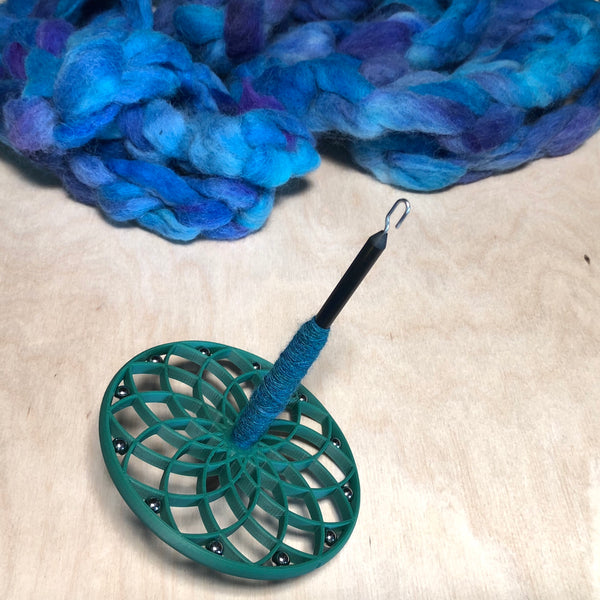 Spindle Kit: Large Lotus Whorl with Shaft