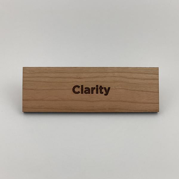 MakerQuote: Clarity