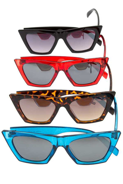 Color framed edge sunglasses