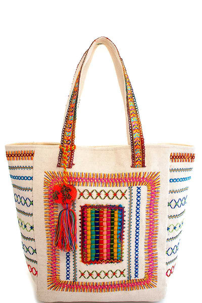 Neon Textiles Summer Tote