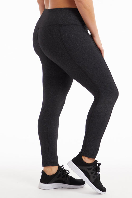 a67c75b98ab High Rise Tummy Control Leggings (Plus Size) - Marika