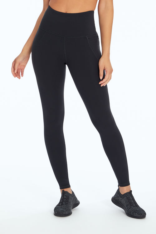 Cali Zip Side Pocket Legging