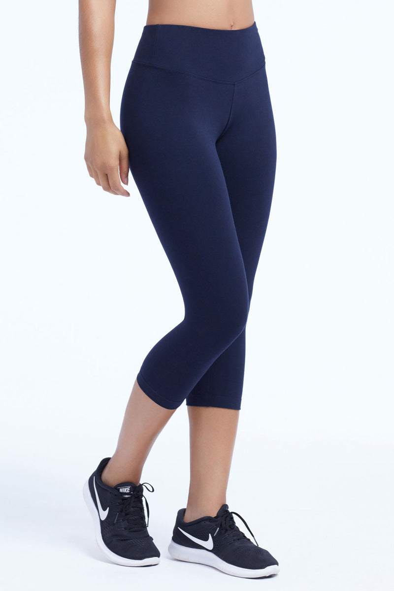 Carrie Tummy Control Capri Leggings