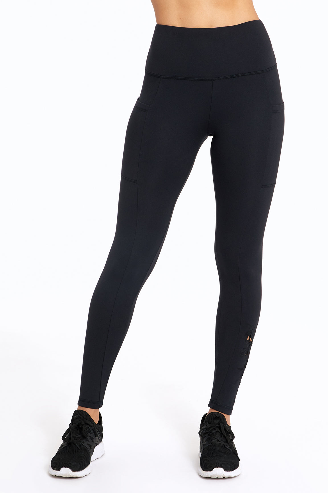 bfa4871d70d49 Evita Side Pocket Embroidered Legging. Starting at $27.99 $60.00