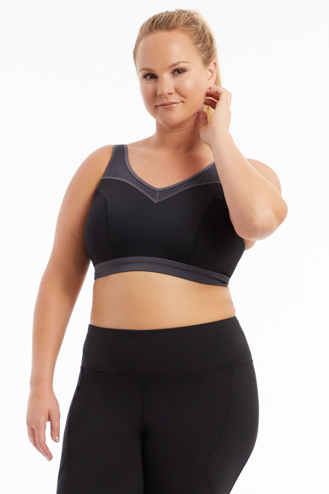 b2d1e99218a16 Polyanna Sports Bra (Plus Size).  39.99  55.00 Available in 2 Colors