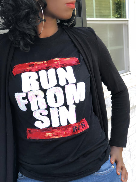 Run From Sin Sequins