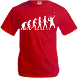 Buxsbaum t-shirt the evolution of tennis
