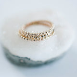 Gold Dotted Ring
