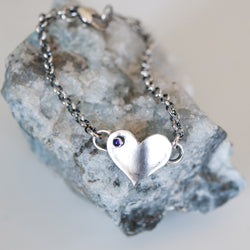 You Are Loved Moonstone Birthstone Bracelet