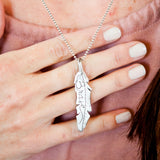 Brave Feather Necklace