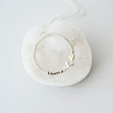 Endless Love Sterling Silver Necklace