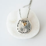 Mother Daughter Friend Necklace