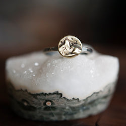 Bronze Mountain Ring